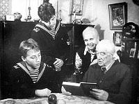 29 декабря 1986 года. Нина Александровна и Альфред Андреевич Бекман